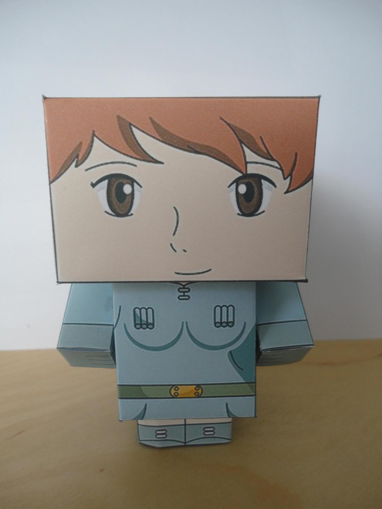 Nausicaa Papercraft by studioofmm