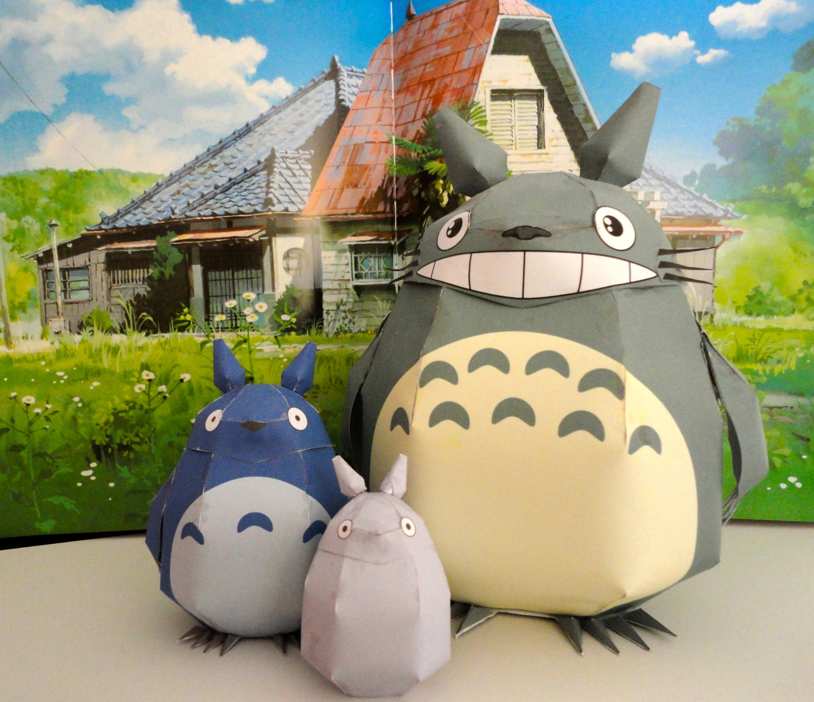 Totoro Papercrafts by studioofmm