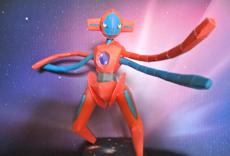 Deoxys Papercraft by studioofmm