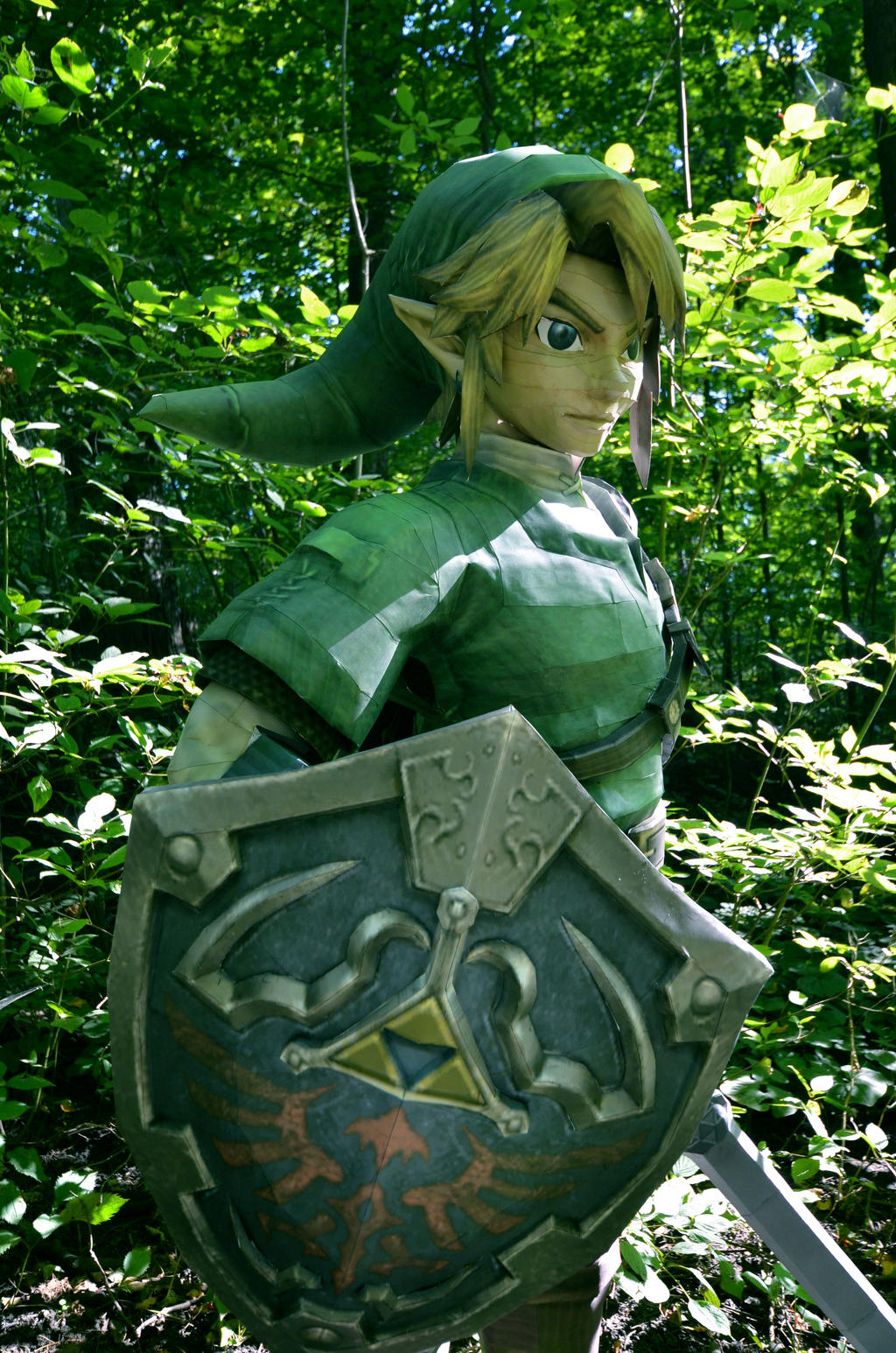 The Hylian Shield by studioofmm