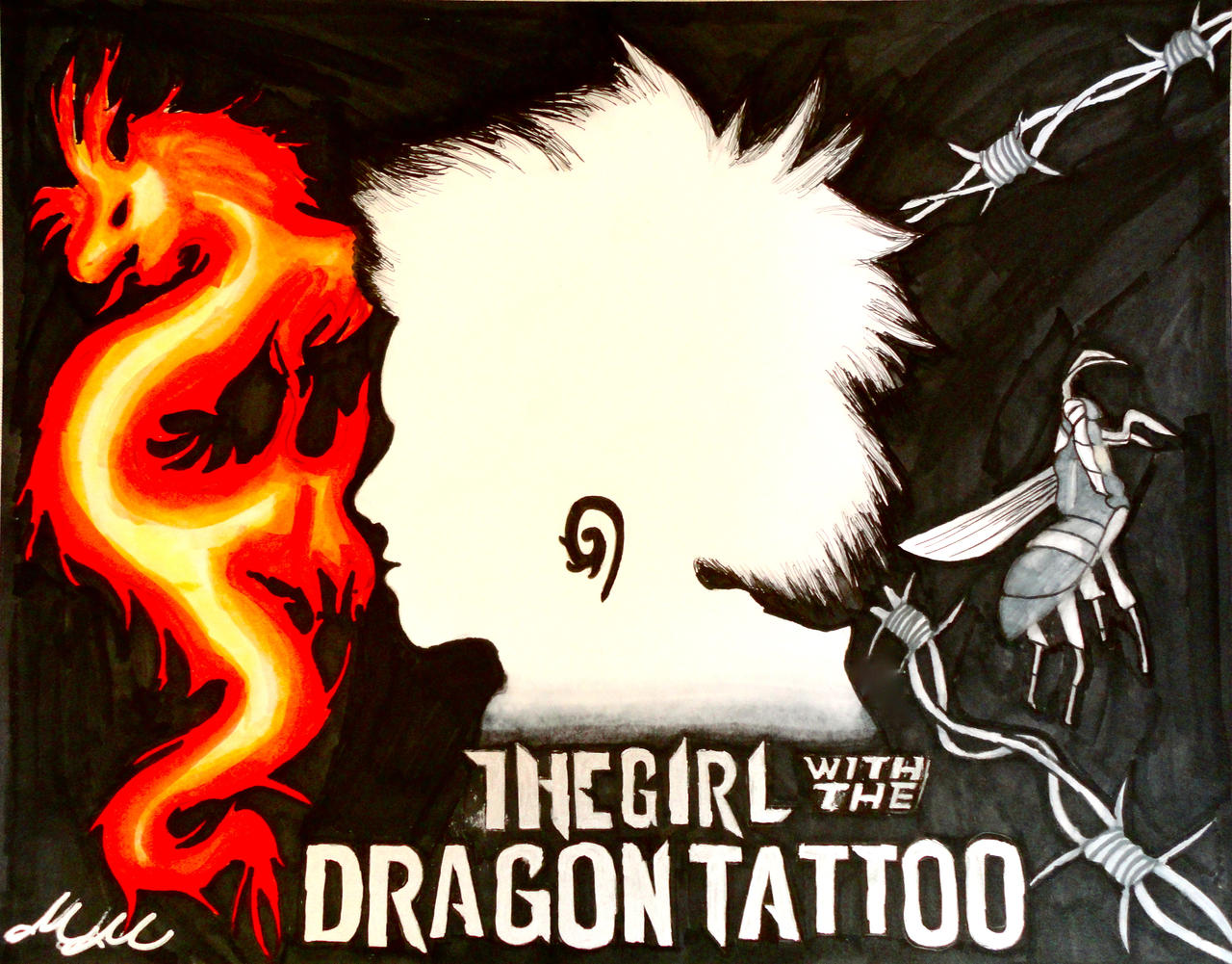 The Girl with the Dragon Tattoo by studioofmm
