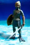 Zora Armor Link Papercraft