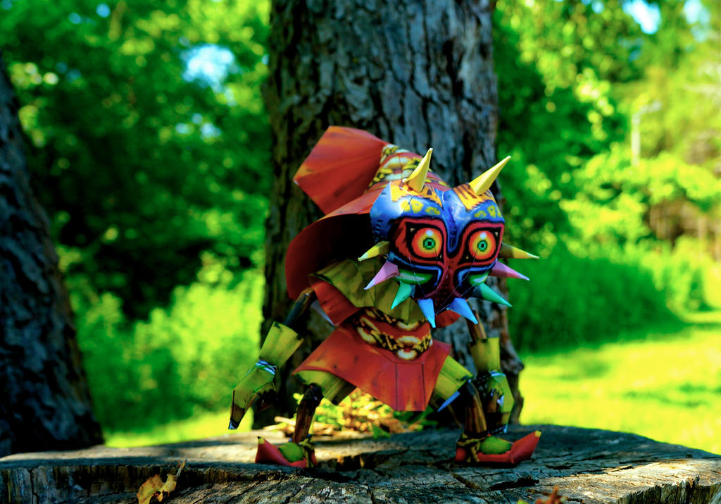 Skull Kid Wallpaper: Skull Kid Papercraft By Studioofmm On DeviantArt