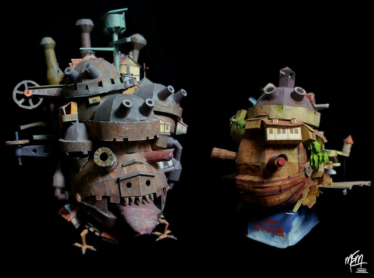 Howl's Paper Castles by studioofmm