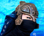 Zora Armor Helmet Papercraft