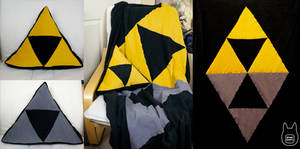 A Link Between Worlds Pillow and Blanket Set