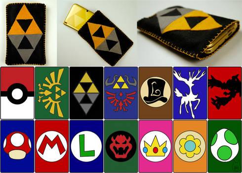 Nintendo 3DS/ 3DS XL Pouches