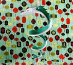 Dragon Haku (Spirited Away) Papercraft Ornament