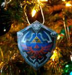 Hylian Shield Ornament
