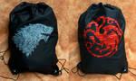 Game of Thrones Drawstring Backpacks