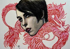Dragon Tattoo by studioofmm