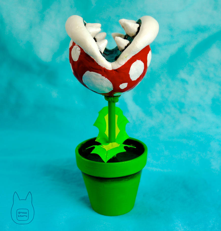 Make Your Own Piranha Plant by studioofmm