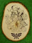 Zelda Wood Plaque Art (Tutorial)