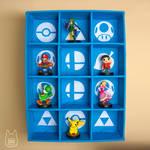 Smash Bros. Amiibo Display Case (Tutorial)