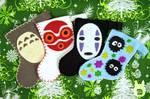 Studio Ghibli Mini Stocking Ornaments (Tutorial)
