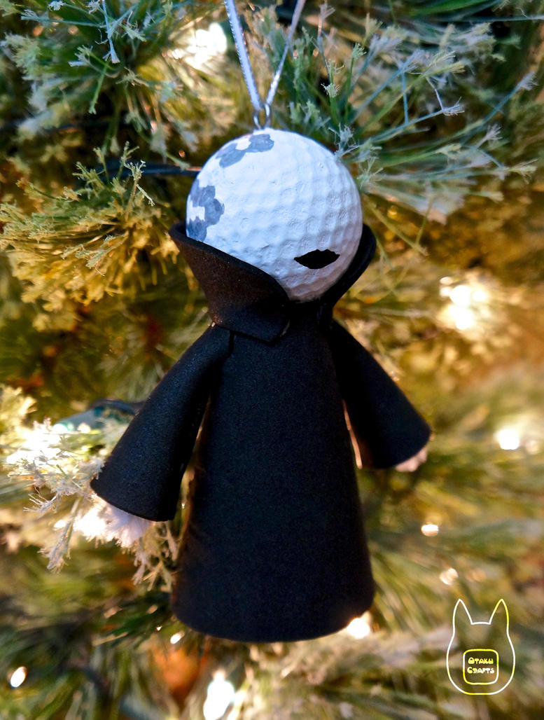 Doc Yewll Golfball Ornament (Tutorial) by studioofmm