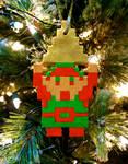 8-bit Link Ornament (Tutorial)