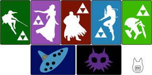 Zelda 3DS/ 3DS XL Sleeve Templates
