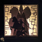 Twilight Princess Paper Lightbox (Tutorial)