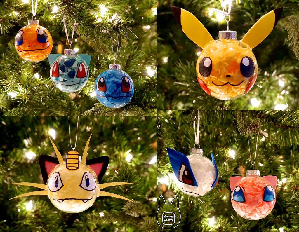 Pokemon Ornaments (Tutorial)