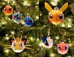 Pokemon Ornaments (Tutorial) by studioofmm