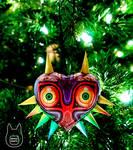Majora's Mask Papercraft Ornament (Tutorial)
