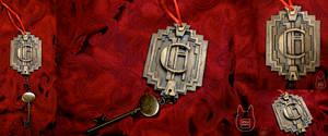 AHS Hotel Cortez Room Key Ornament (Tutorial)