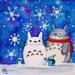 Totoro Winter Wonderland