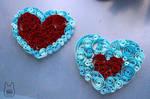 Zelda Paper Quilled Heart Pieces (Tutorial)