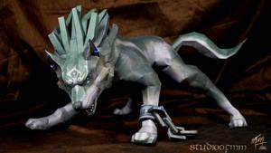 Wolf Link Papercraft (Tutorial)