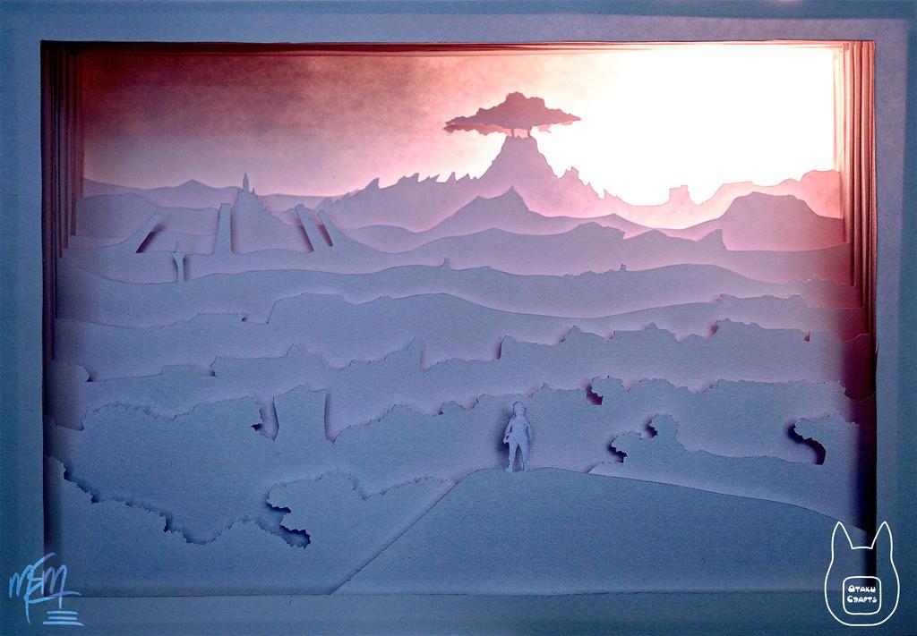 Breath of the Wild Paper Lightbox (Tutorial) by studioofmm ...