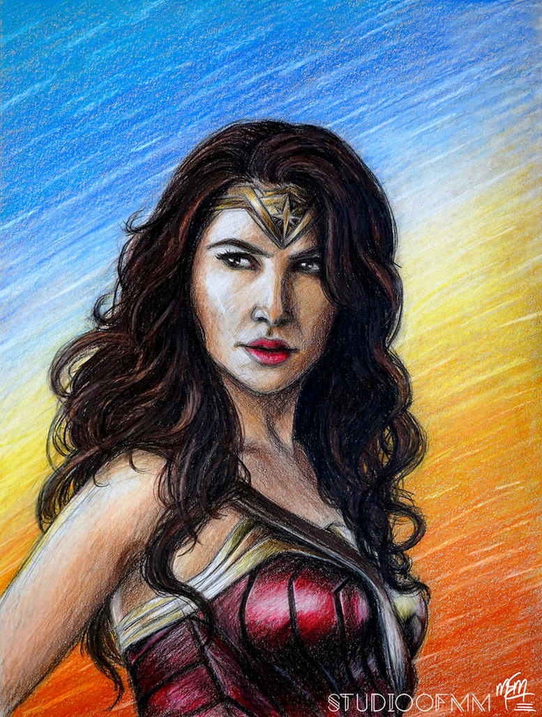 Wonder Woman (Crayola Challenge) by studioofmm