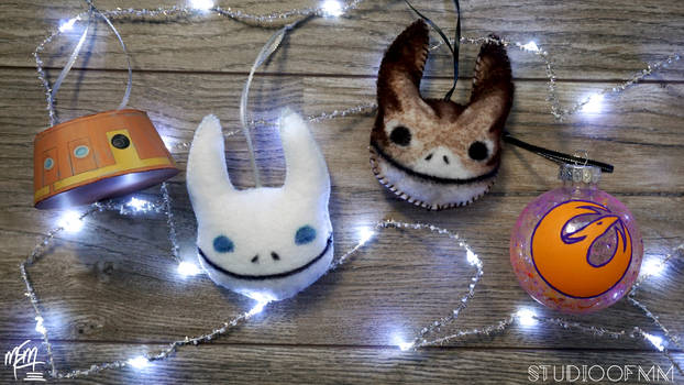 Star Wars Rebels Ornaments (Tutorial)