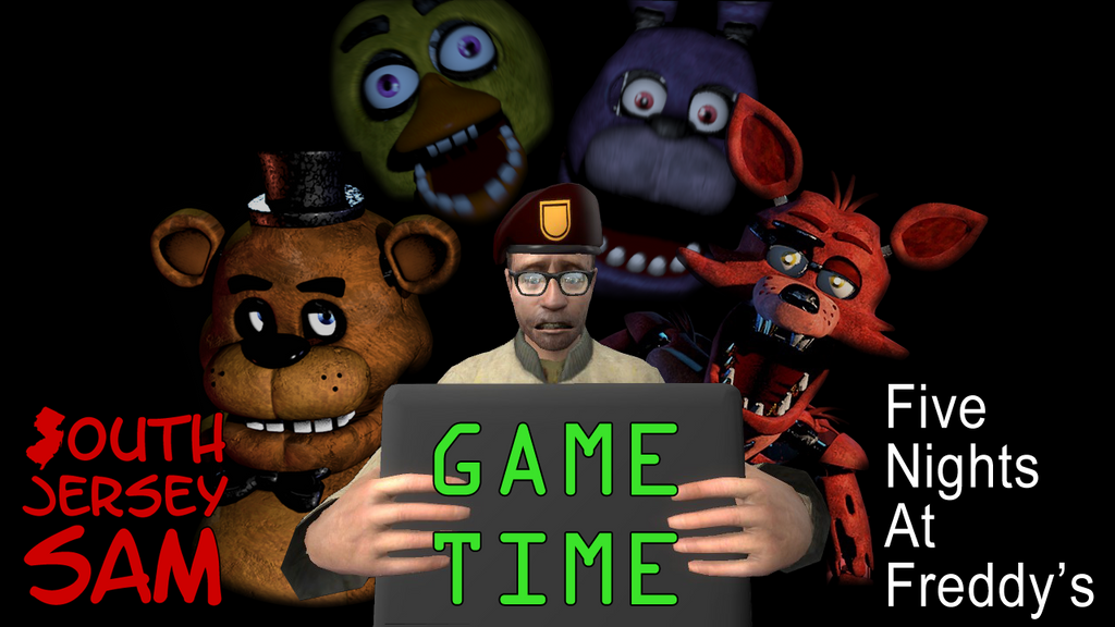 Sjs game time five nights at freddy s by southjerseysam on deviantart