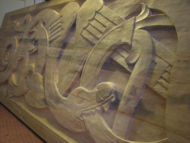 Viking bed headboard by rivalpiper on deviantart