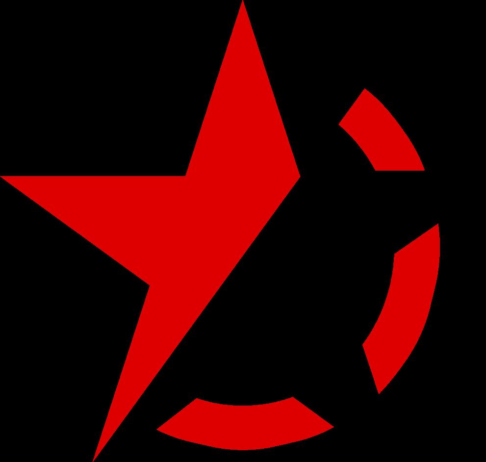 Communist Symbol Star Strange Anarchist Star by