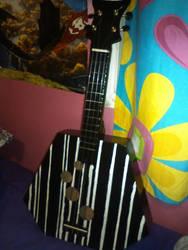 A7X style ukulele -front-