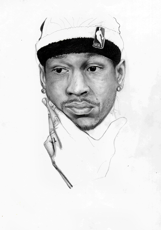 coloring pages of allen iverson-#13