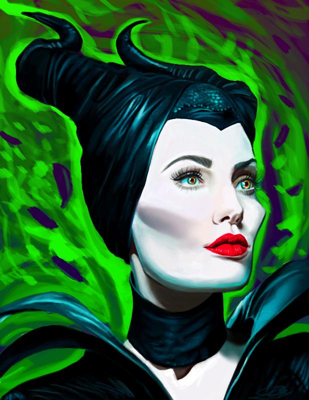 maleficent AJ by Shimda