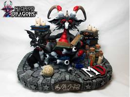 2016 Black Potion Dragon by MacLeodDragons