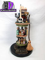 2016 MD Exclusives Green Witch End Table by MacLeodDragons