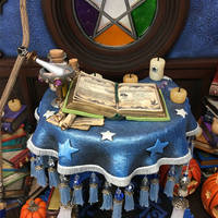 2018 Blue Witch Table Set book detail