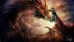 Dragon and Elf
