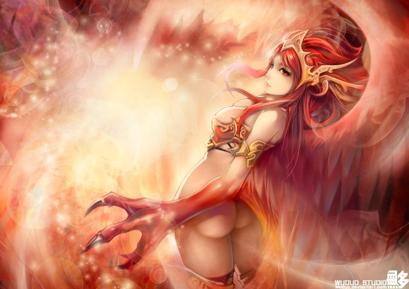 Random Phoenix_by_wuduo-d4ywh04