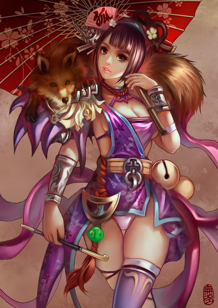 fox Girl by WUDUO