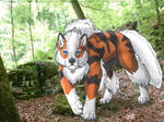 Arcanine in the forest