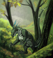 Forest creature by Tacimur
