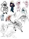 more captain hepburn sketches
