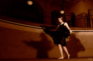 Sepia Dancer by nightchild-photo