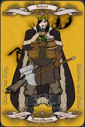 Robert Baratheon by etgovac